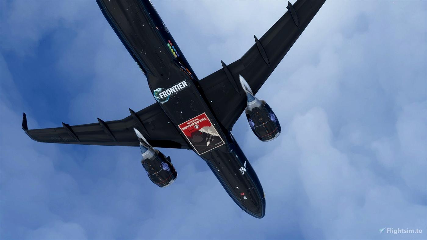 A32NX - Elite Dangerous - Azgharie Airlines - [Fictionnal]