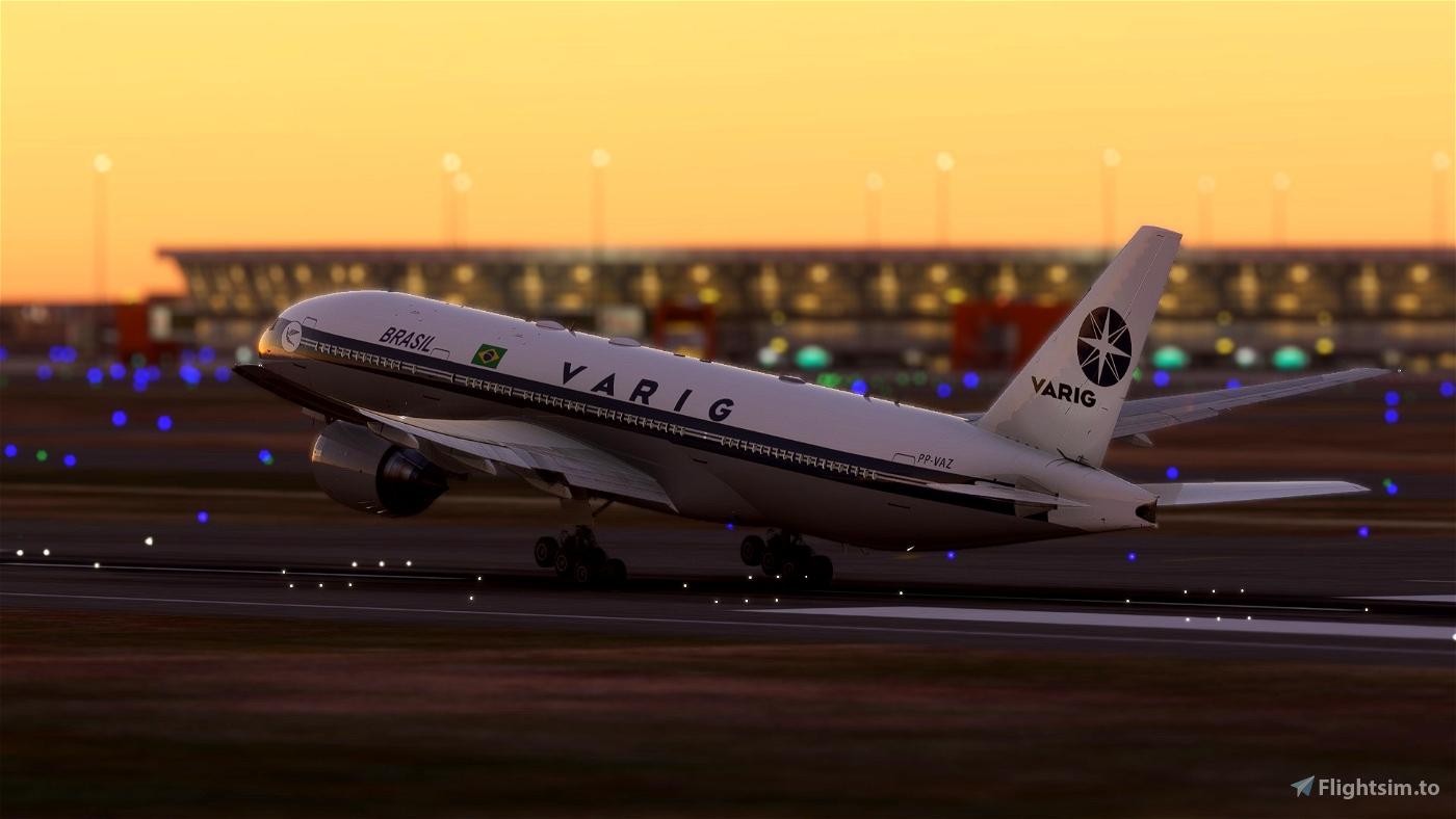 CS-777-200ER PP-VAZ - VARIG RETRO 1996 Ultra