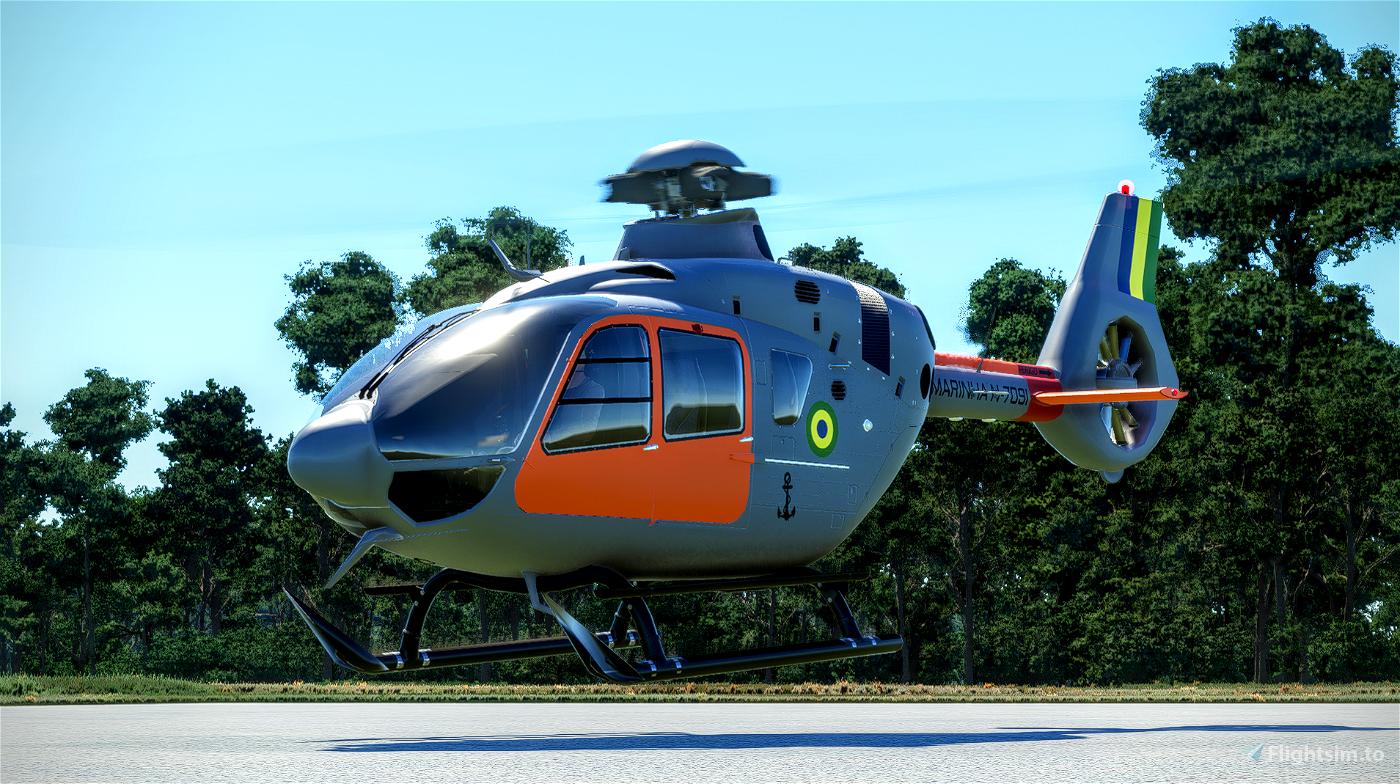 Airbus H135 -  Marinha do Brasil | N-7091