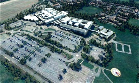 Darent Valley Hospital with Helipad   Dartford, London, UK Microsoft Flight Simulator