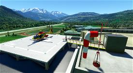 Hôpital de Sallanches Microsoft Flight Simulator