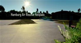 12 Hamburg Air Rescue Helipads + Charts for 2 Helipads! Microsoft Flight Simulator