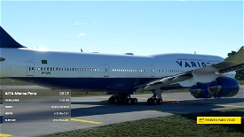 Asobo 747-8i Varig Brasil [Without mirroring] Microsoft Flight Simulator