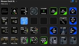 PMDG DC-6 profile for StreamDeck XL (for LORBYs AAO SD plugin) Microsoft Flight Simulator