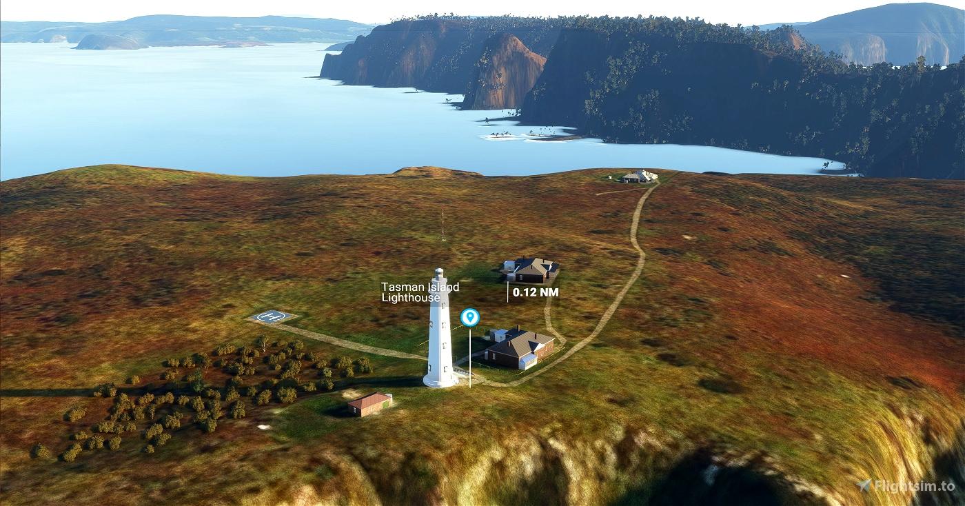 Tasman Island Lighthouse, Tasmania