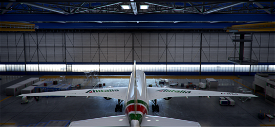 Boeing 777-200 Alitalia EI-WLA 'Roma' Microsoft Flight Simulator