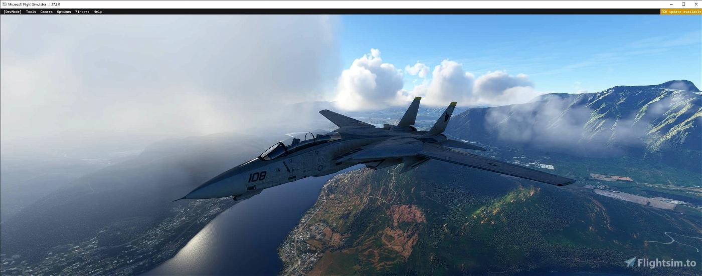 F-14 Tomcat Microsoft Flight Simulator