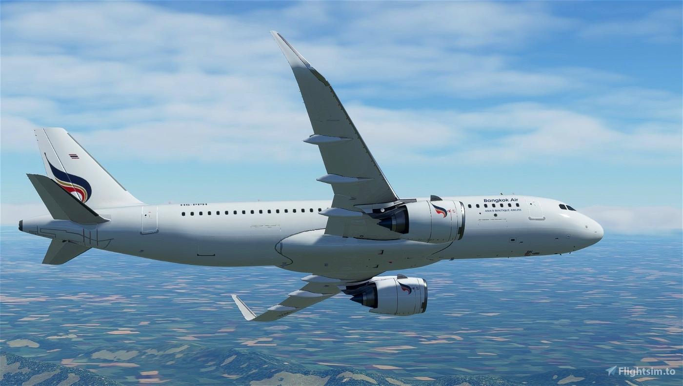 [A32NX] Bangkok Air - A320Neo HS-PPH