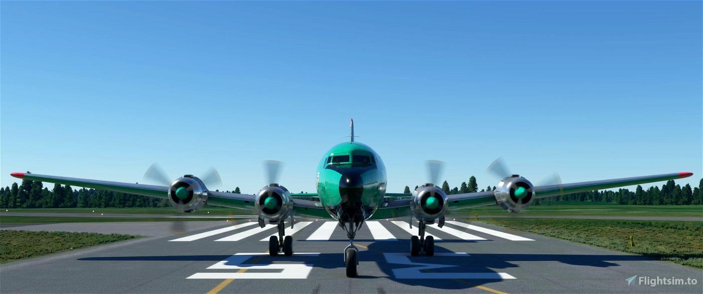 PMDG DC-6A Buffalo Airways (C-GCTF) Livery [4K][8K]