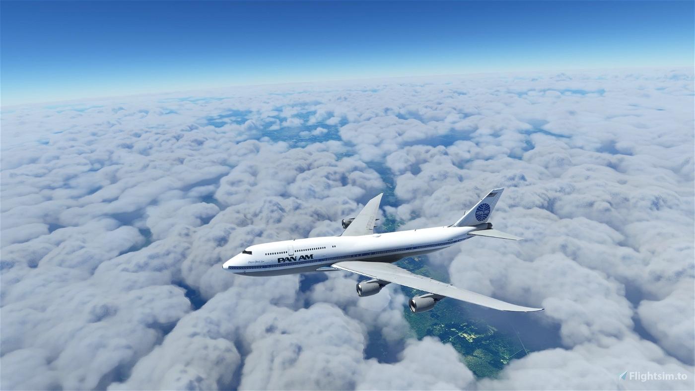 Asobo 747-8i Pan Am [No mirroring]