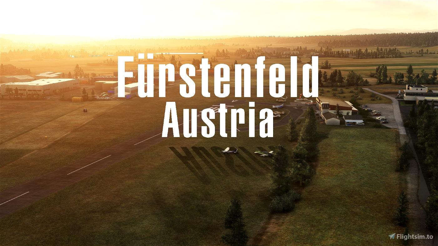 LOGF Fürstenfeld/Austria Microsoft Flight Simulator