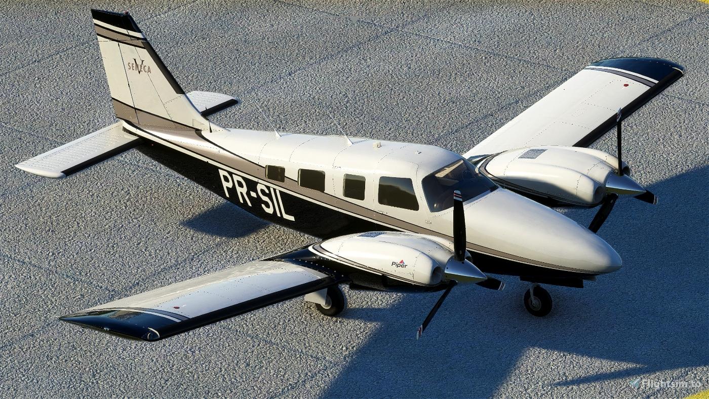 Carenado PA34 Seneca V - PR-SIL Microsoft Flight Simulator