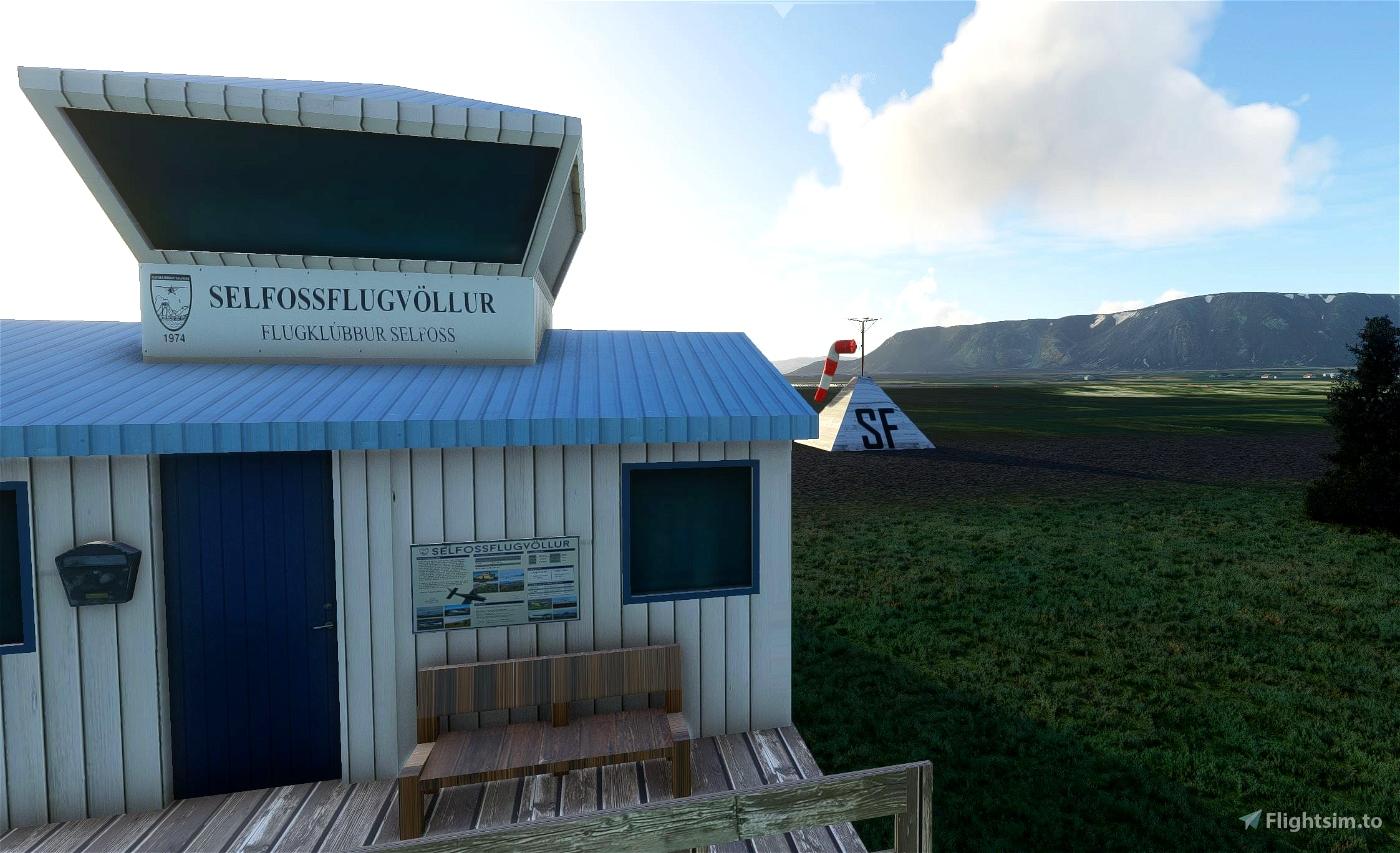 BISF Selfoss Iceland Scenery