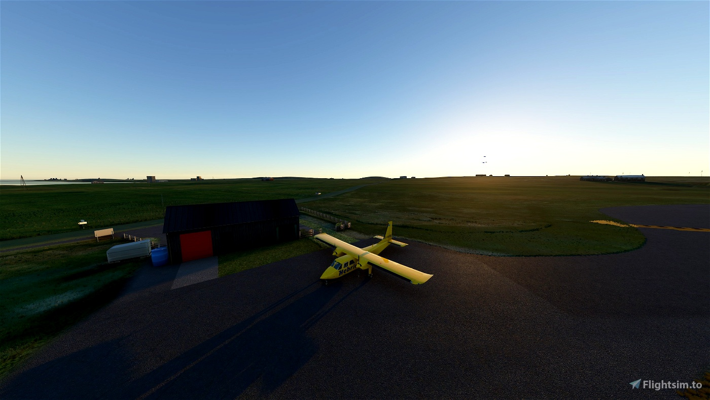 EGEL Coll Aerodrome