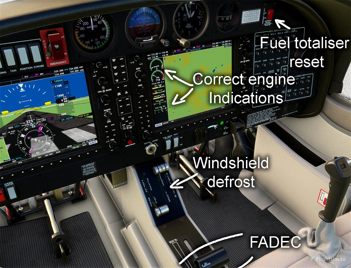 DA40-NGX Improvement Mod
