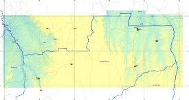 Angola ETM12 Enhanced Terrain Mesh 12m vol_03 -Lunda Norte Microsoft Flight Simulator