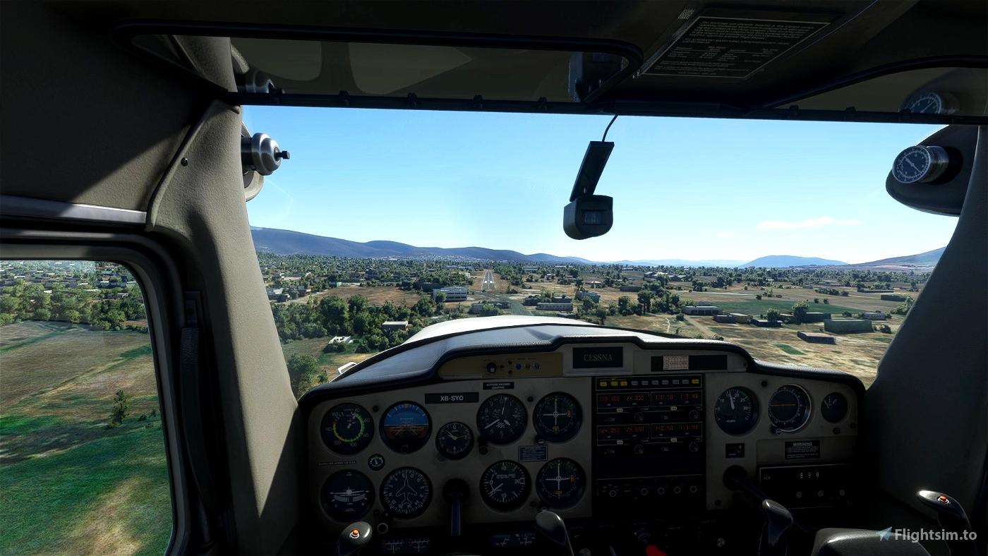 Aeropuerto de Chiconcuac, Morelos, Mexico (CHC, MM77, MX-1261) Microsoft Flight Simulator