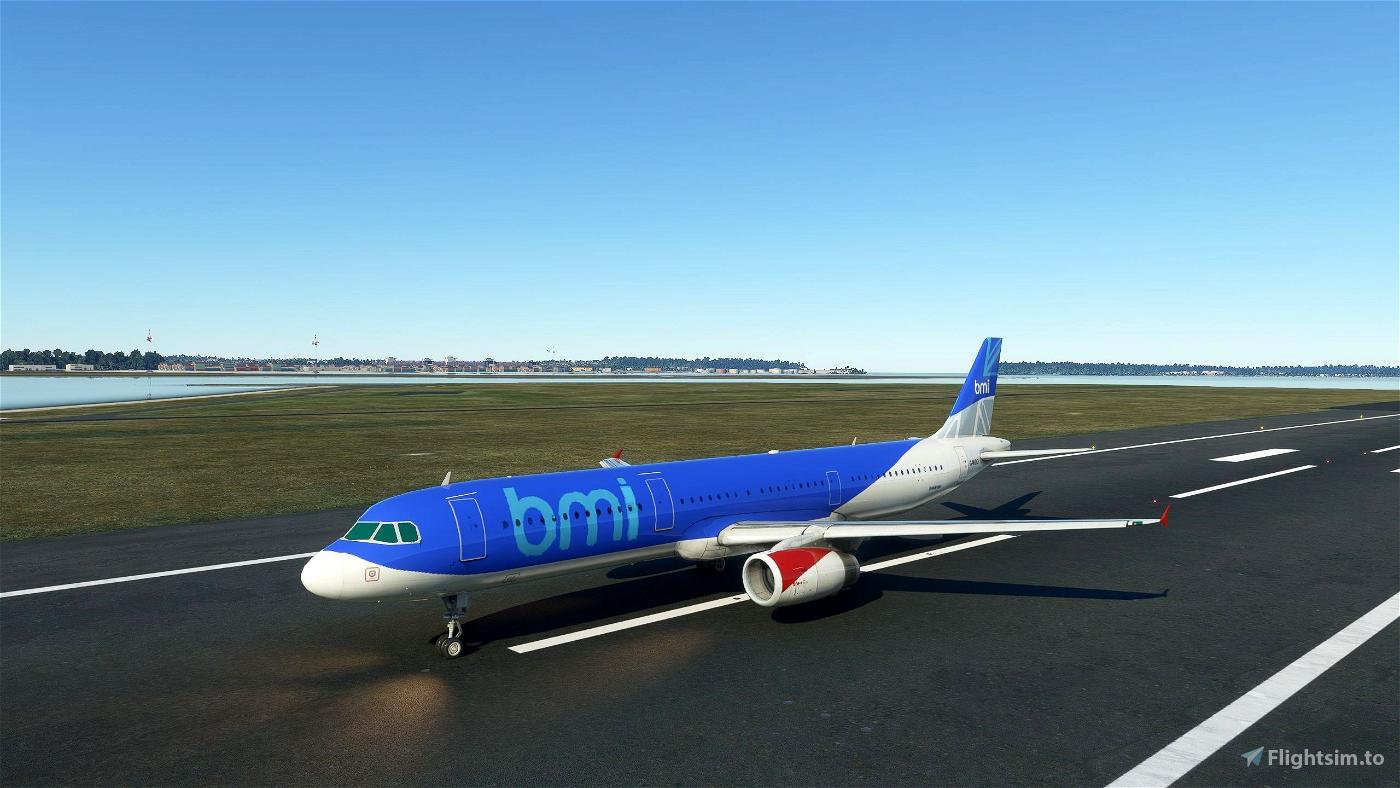 A321 BMI Livery Microsoft Flight Simulator