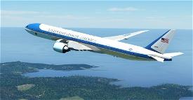 Air Force One / US Air Force / USAF CaptainSim 777-300ER Microsoft Flight Simulator