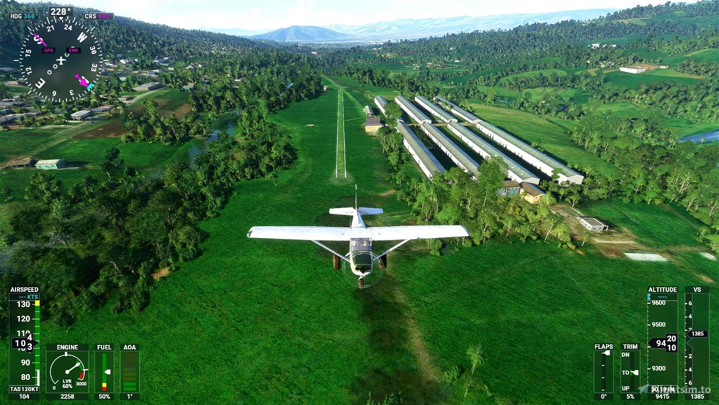 Aeródromo Laicas SELS Microsoft Flight Simulator