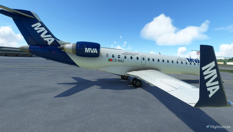 Aerosoft CRJ 700 Mickey Virtual Airlines