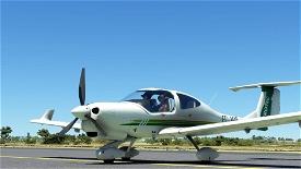 Aerotec EC-IQE | Asobo DA40 NG Microsoft Flight Simulator