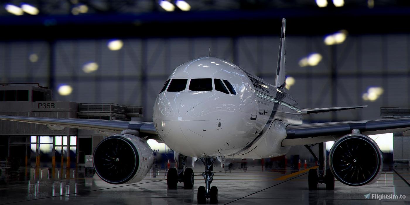 [A32NX] Airbus A320neo El AL Israel Airlines 4X-EKH in 8k Microsoft Flight Simulator