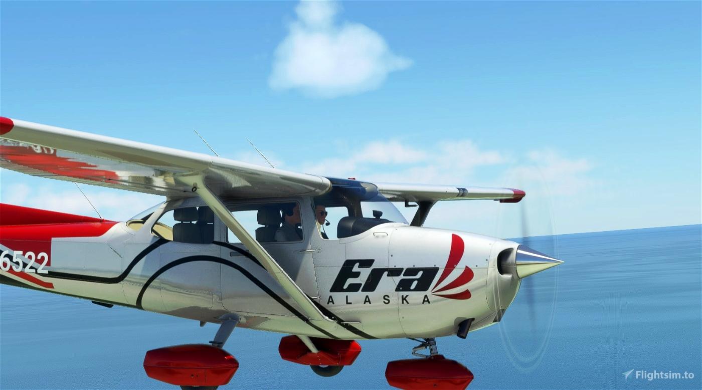 ERA ALASKA C172 G1000 in 8K Microsoft Flight Simulator