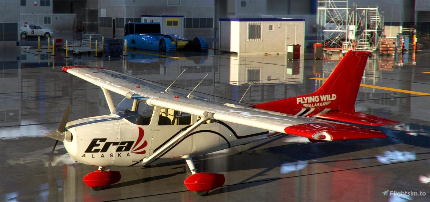 ERA ALASKA C172 G1000 in 8K