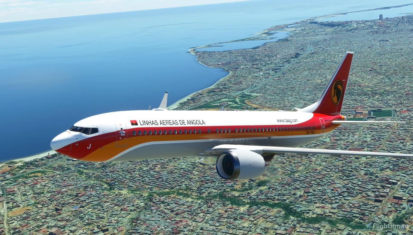 Bredok3D 737 MAX 8 | TAAG Angola Airlines Microsoft Flight Simulator