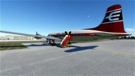 PMDG DC-6B - British Eagle - G-APSA Microsoft Flight Simulator
