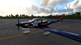 DA40NG DOCTORS WITHOUT BORDERS Microsoft Flight Simulator