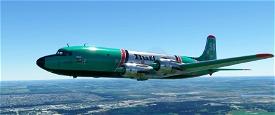 PMDG DC-6A Buffalo Airways (C-GCTF) Livery [4K][8K] Microsoft Flight Simulator
