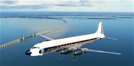 Eastern Air Lines DC-6B N3022C 1957 Microsoft Flight Simulator