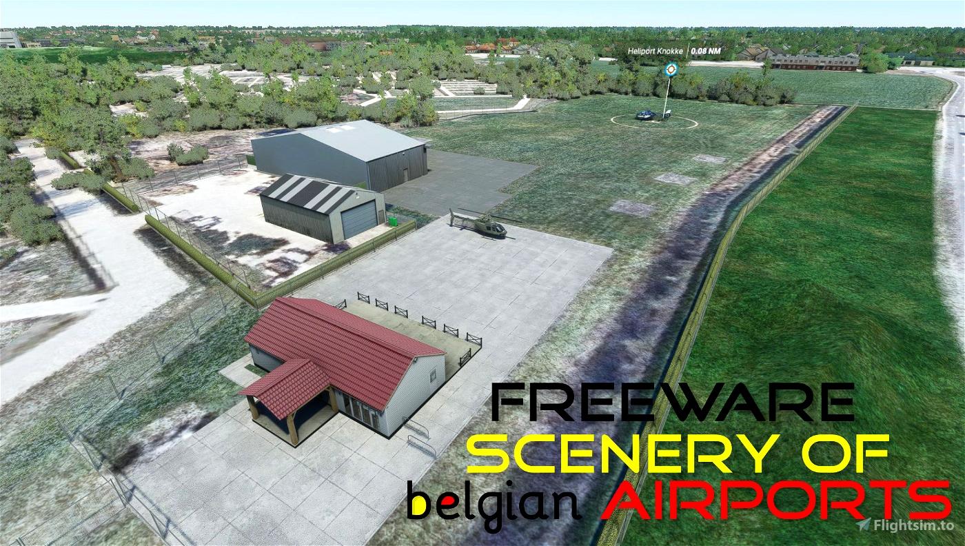 EBKW Heliport Knokke Westkapelle, Belgium