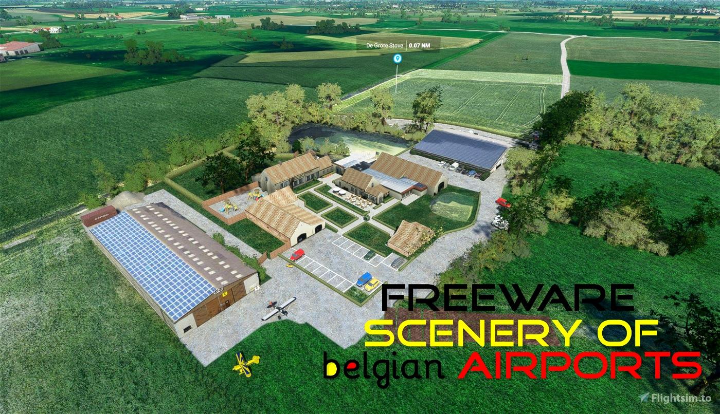 EBZU Zuienkerke ULM, Belgium Microsoft Flight Simulator