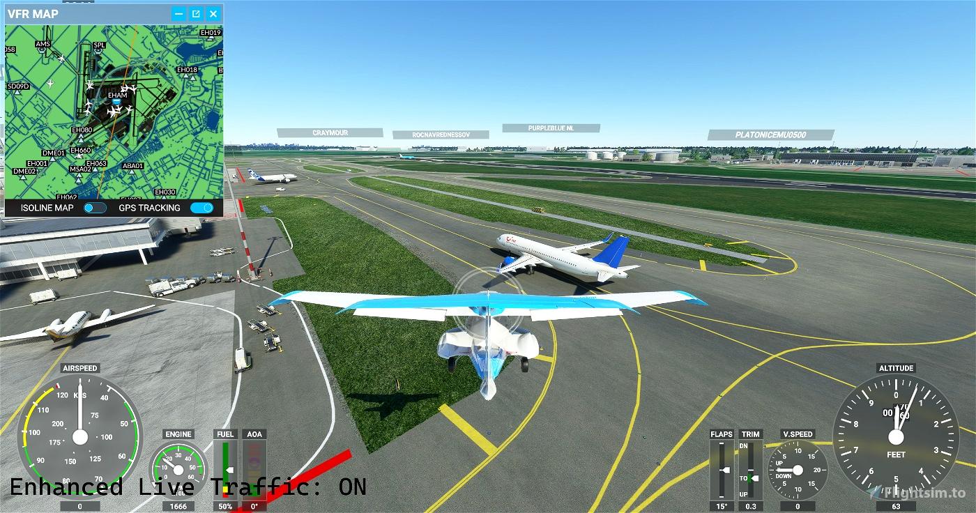 Enhanced Live Traffic