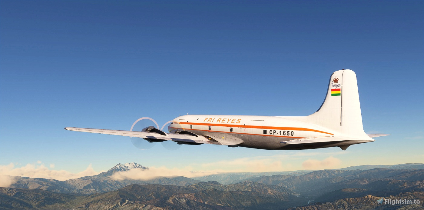 Fri Reyes - PMDG DC-6A - CP1650 Microsoft Flight Simulator