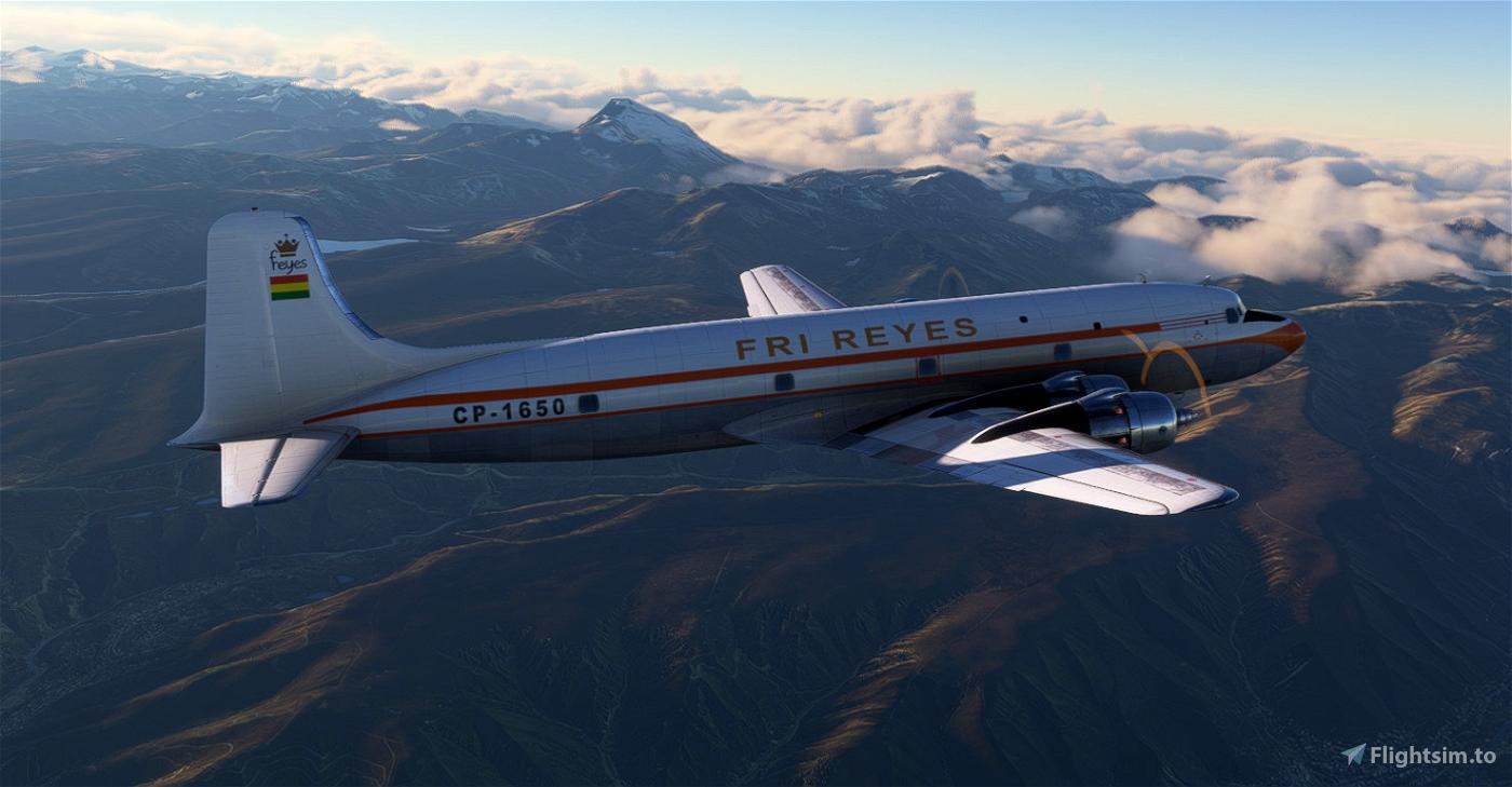 Fri Reyes - PMDG DC-6A - CP1650