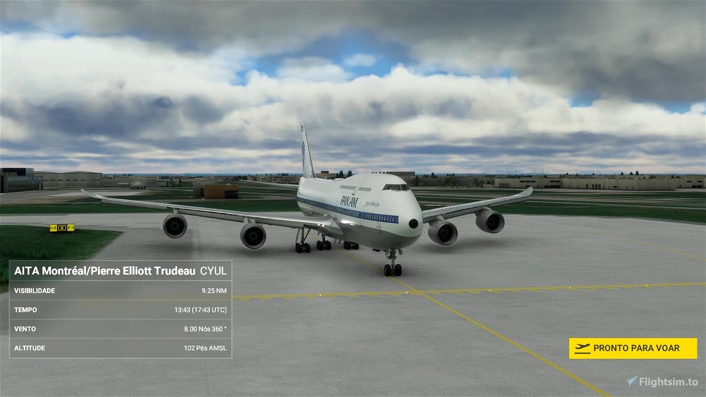 Asobo 747-8i Pan Am [No mirroring] Microsoft Flight Simulator