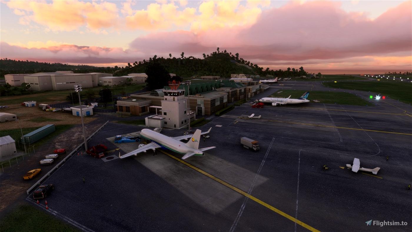 Hewanorra Int.(TLPL) & George F. L. Charles Airport (TLPC) Updated Scenery Pack Project Microsoft Flight Simulator