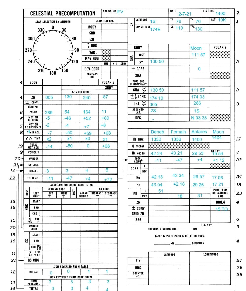 CelNav for MSFS - Celestial Navigation Sextant
