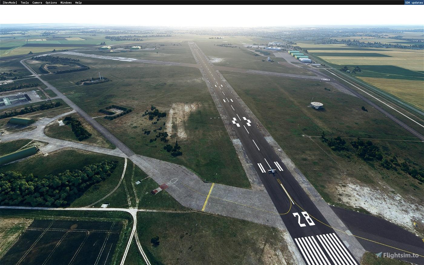 LFOC - Base Aérienne 279 de Chateaudun  Microsoft Flight Simulator