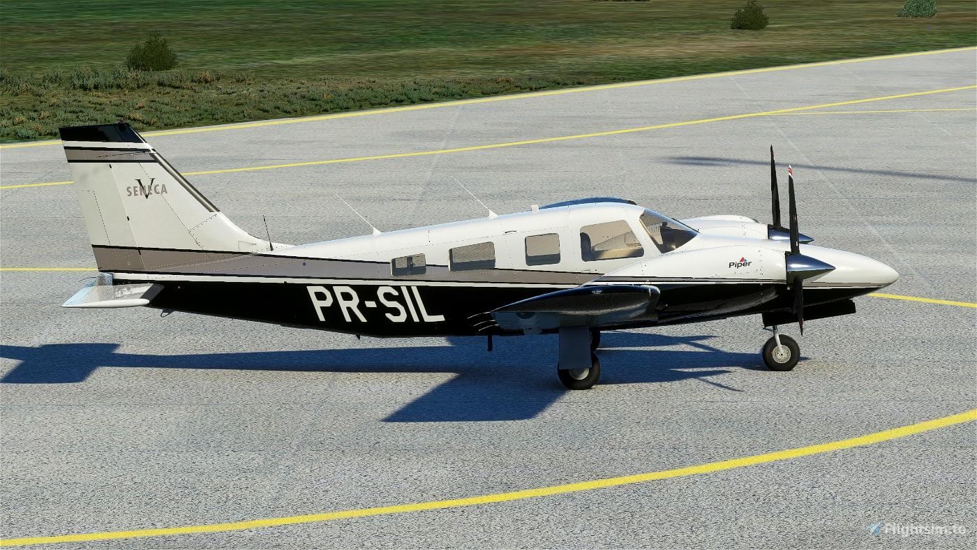 Carenado PA34 Seneca V - PR-SIL