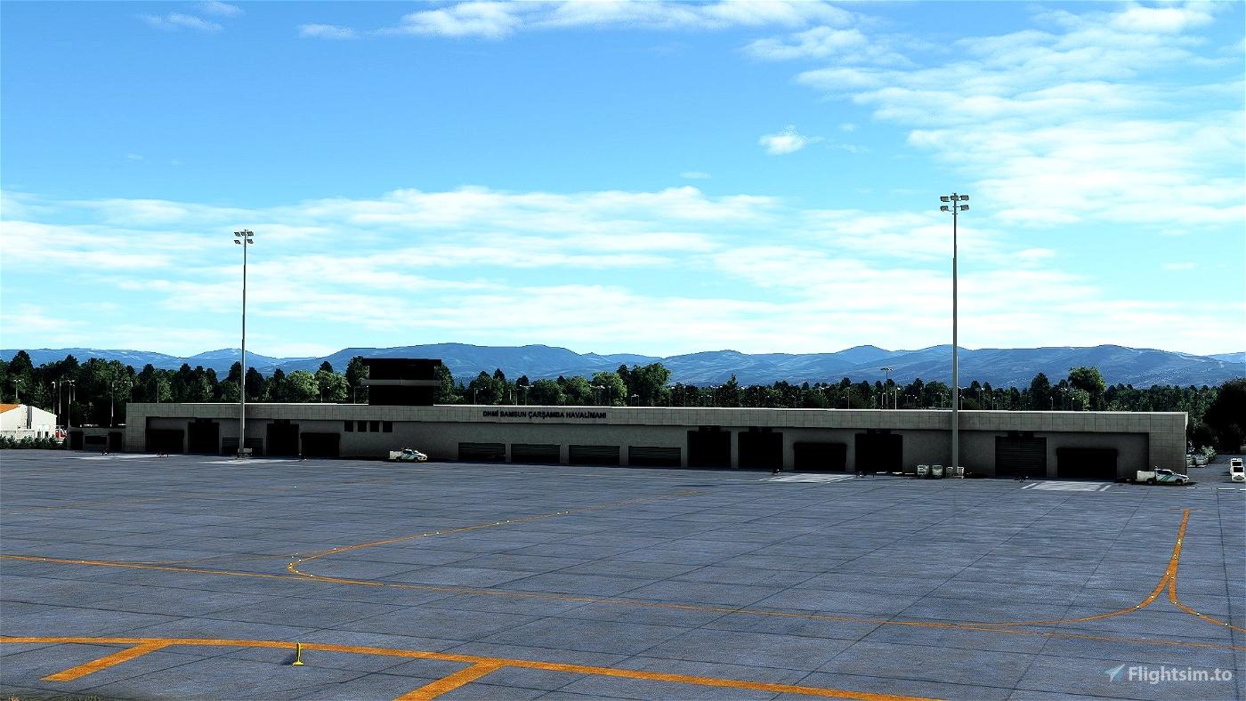 LTFH Samsun Çarşamba Havalimanı   Airport - Turkey