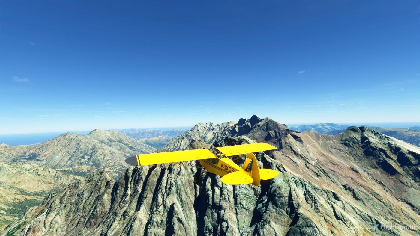 Corsica Bush Trip Microsoft Flight Simulator
