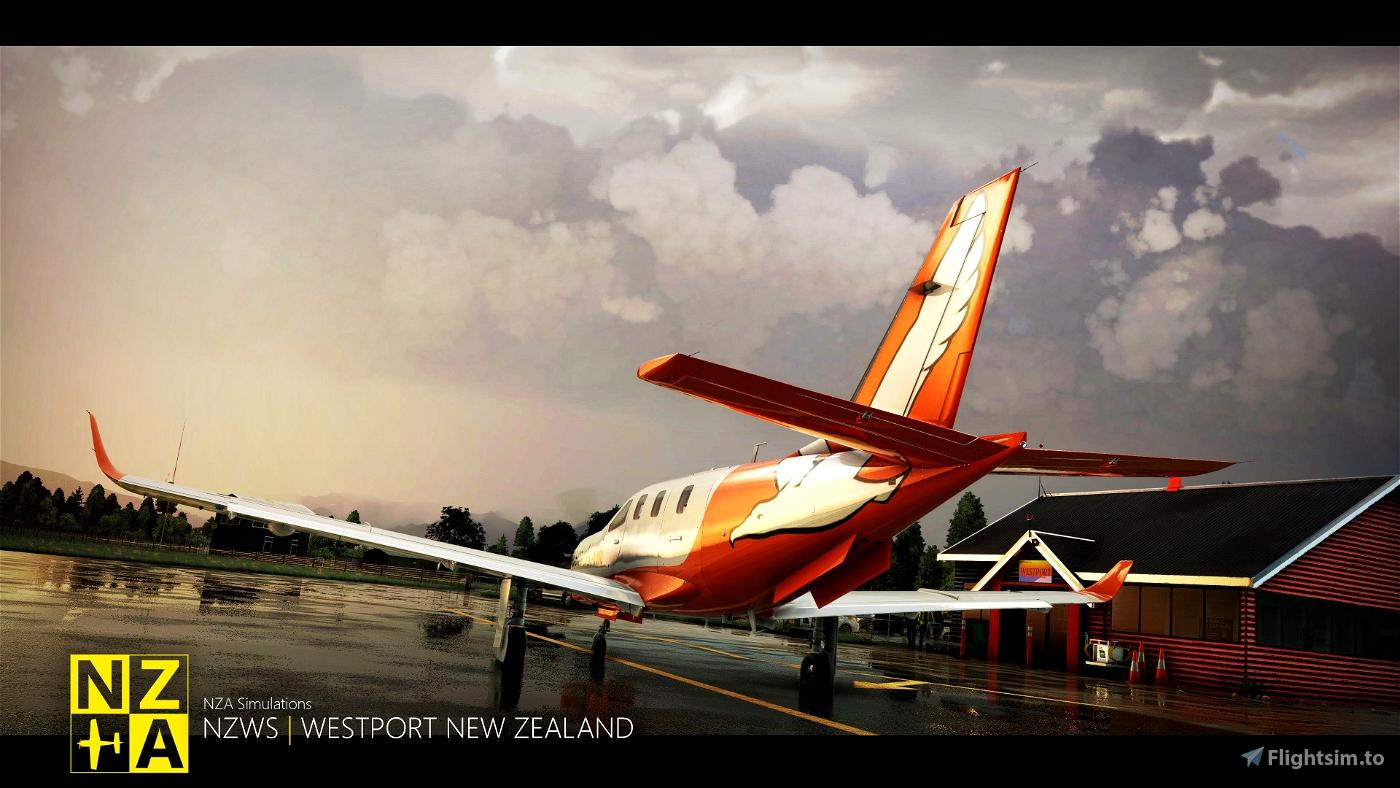 NZA Simulations - NZWS Westport V2.0 Microsoft Flight Simulator