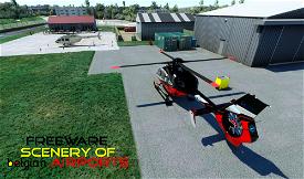 EBKW Heliport Knokke Westkapelle, Belgium Microsoft Flight Simulator