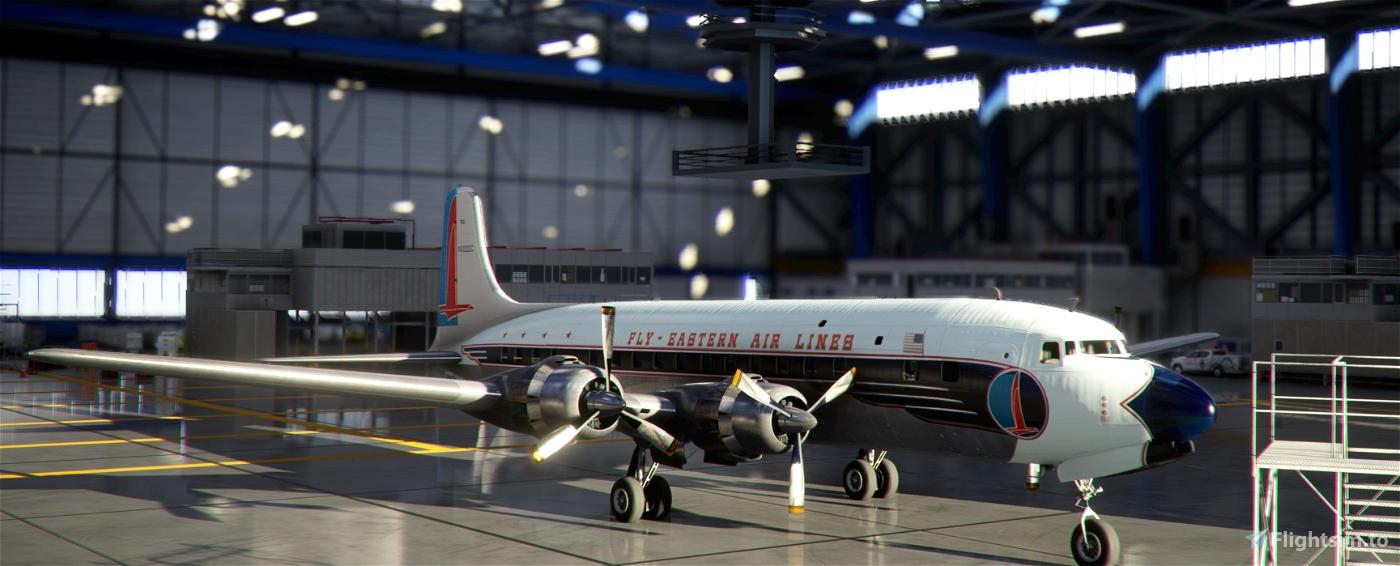 Eastern Air Lines DC-6B N3022C 1957