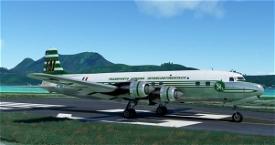 PMDG_DC6B_TAI_F-BHVA Microsoft Flight Simulator